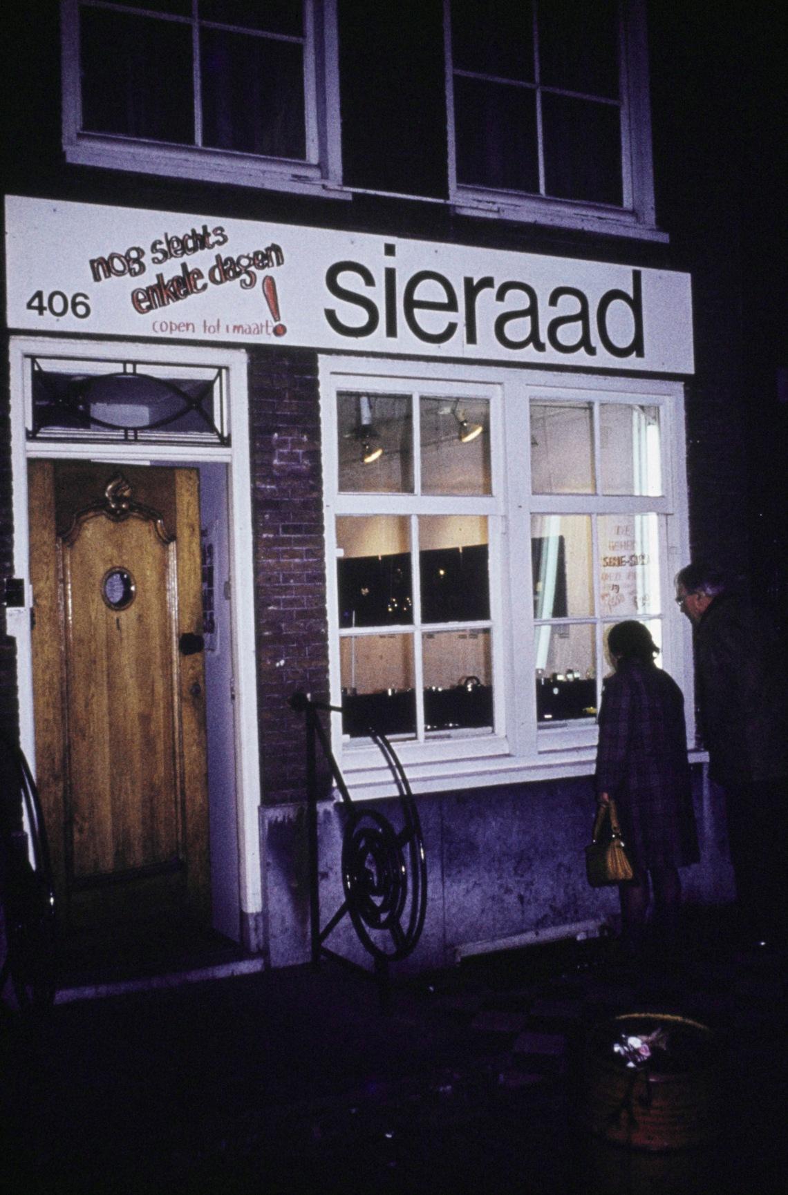 Galerie Sieraad, Singel 406. Foto met dank aan Galerie Ra©