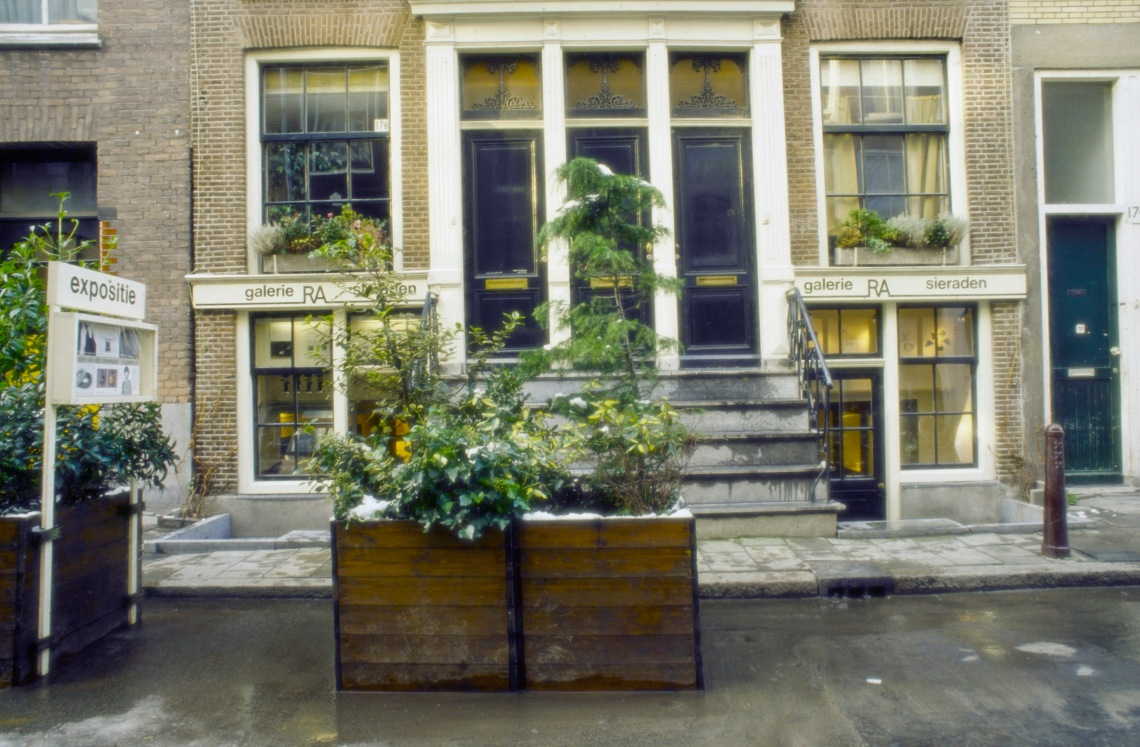 Plantenbakken voor Galerie Ra. Foto met dank aan Galerie Ra©