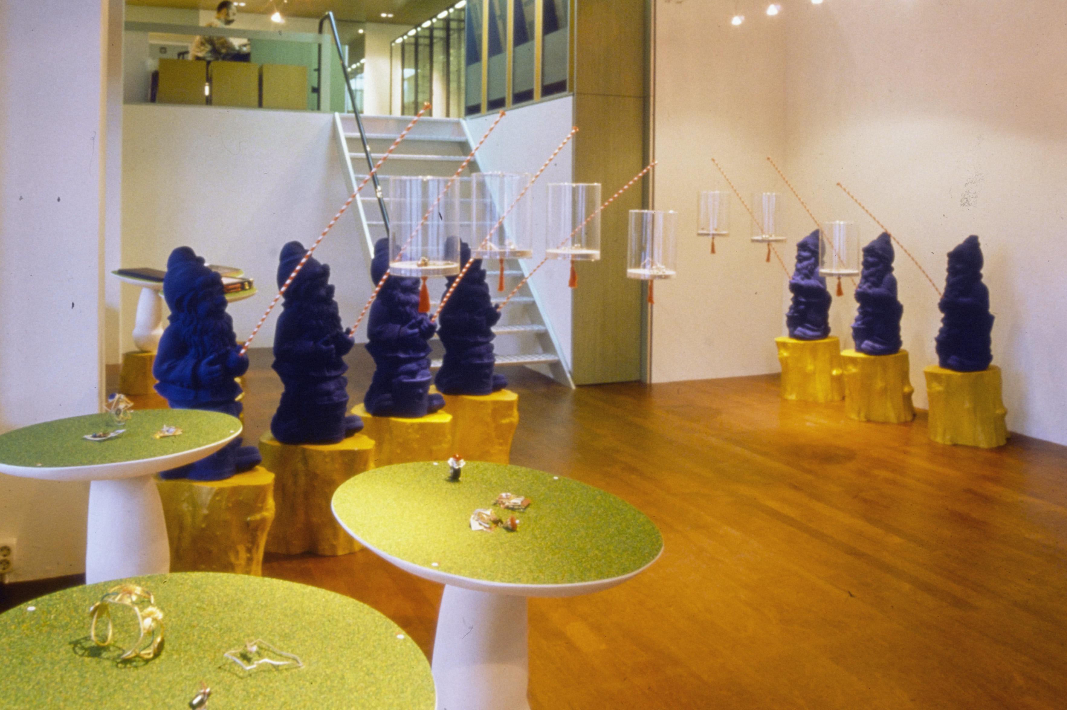 Marion Herbst in Galerie Ra. Foto met dank aan Galerie Ra©