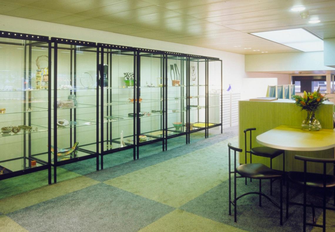 Interieur Galerie Ra aan de Vijzelstraat, Amsterdam