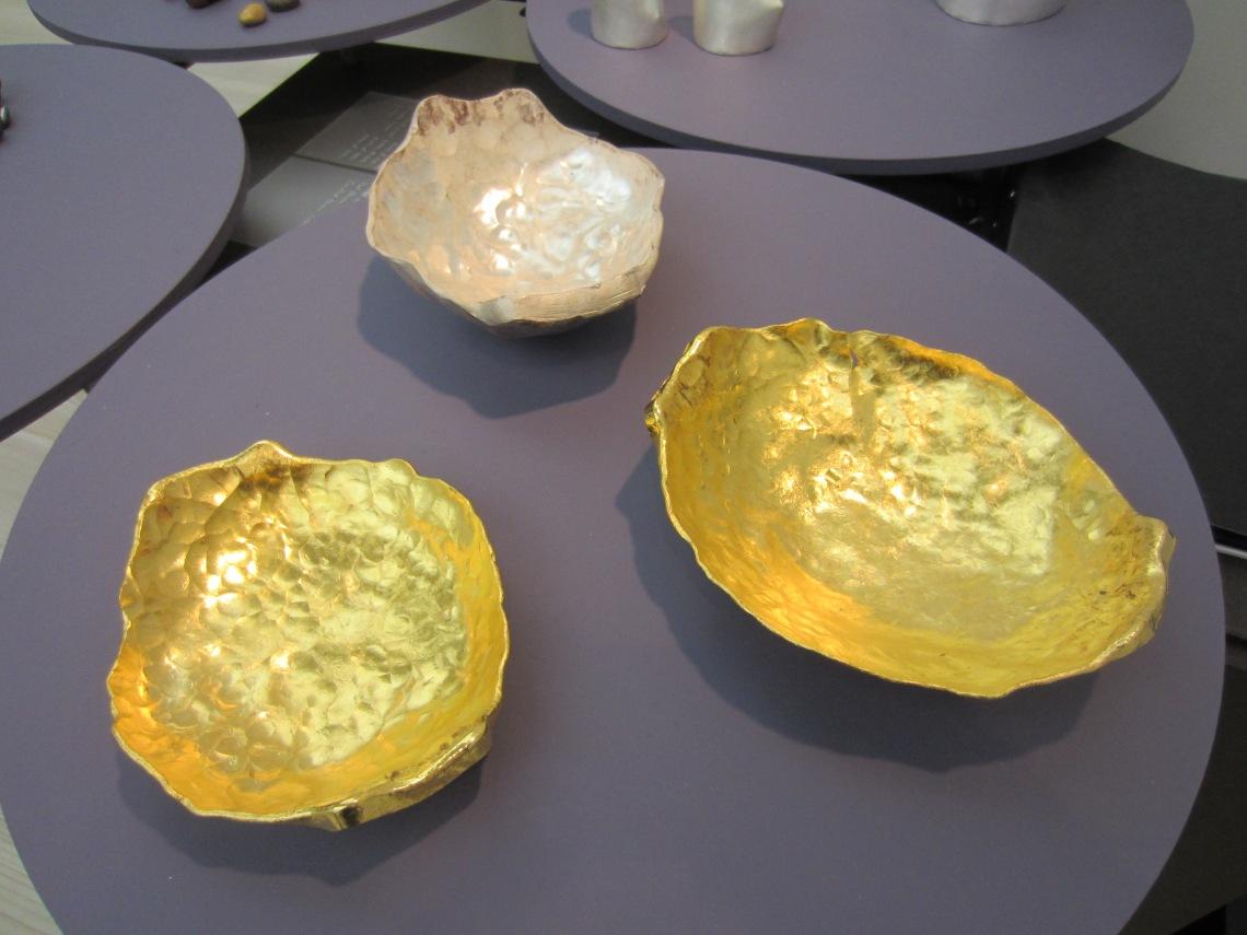Karl Fritsch, twee kilo gehamerd goud. Foto met dank aan M.O.©