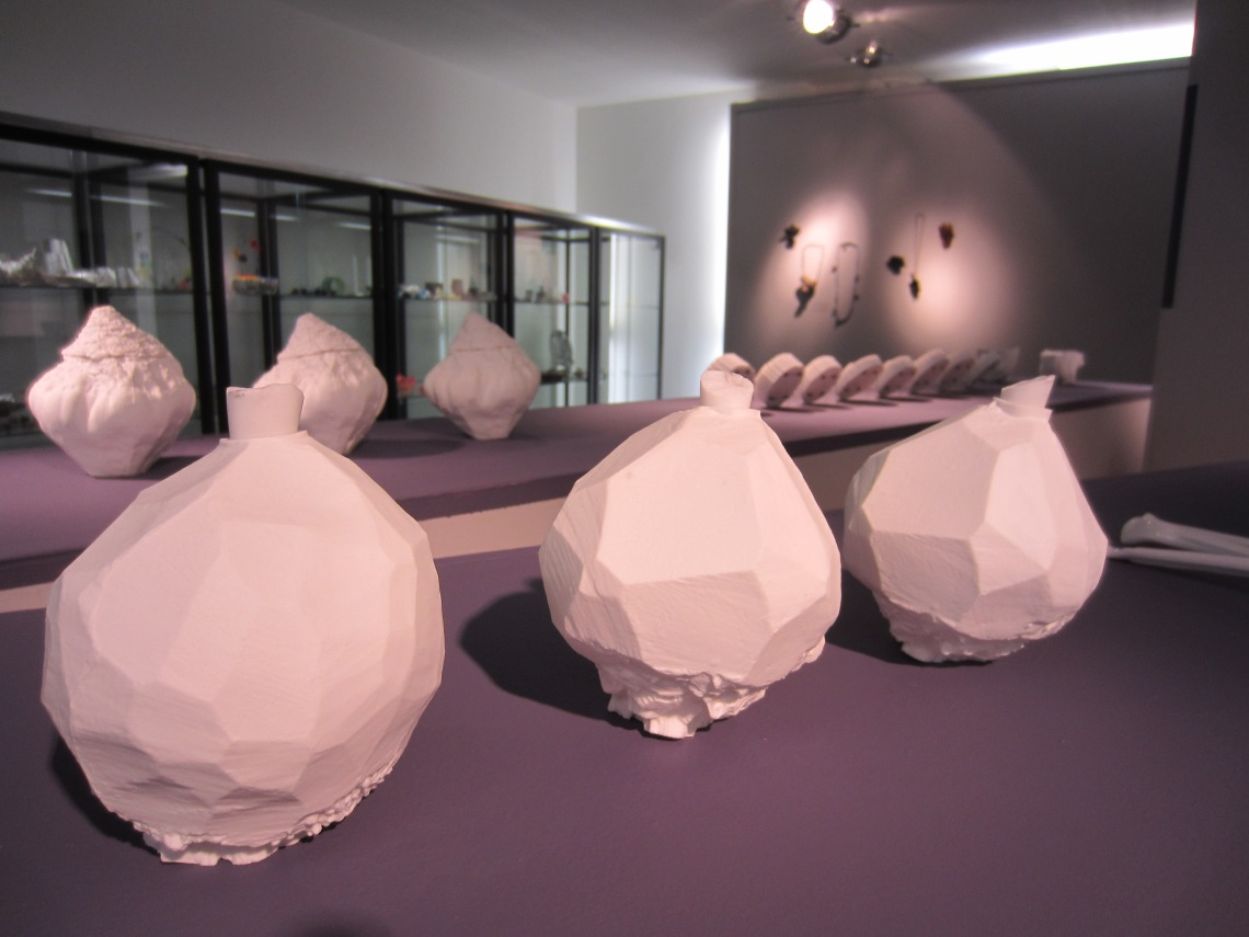 Luzia Voigt in Galerie Ra, tentoonstelling