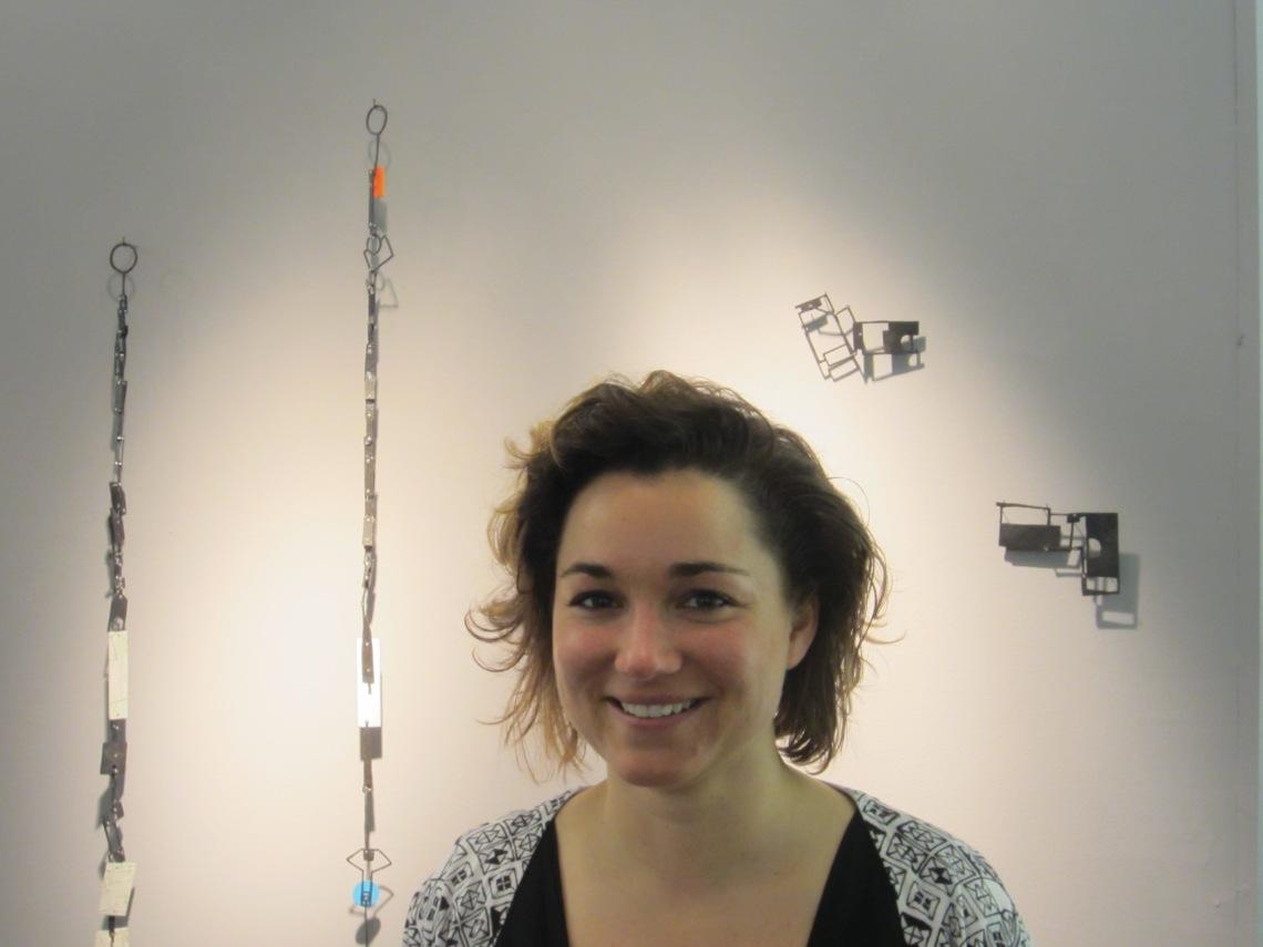 Réka Fekete in Galerie Ra, 2015. Foto met dank aan M.O.©
