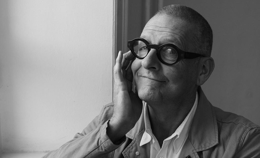 Ruudt Peters, hoofddocent Gerrit Rietveld Academie (1990-2000). Foto met dank aan Ruudt Peters©