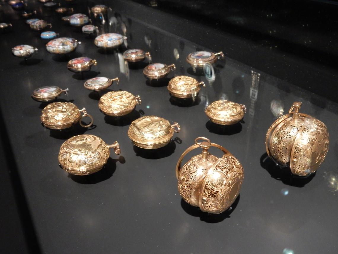 Horloges. Special Collections, Rijksmuseum Amsterdam, 2016, goud, metaal