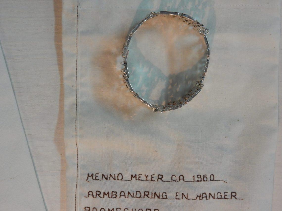 Armband Menno Meyer, circa 1960. Bijeenkomst SSC 2016