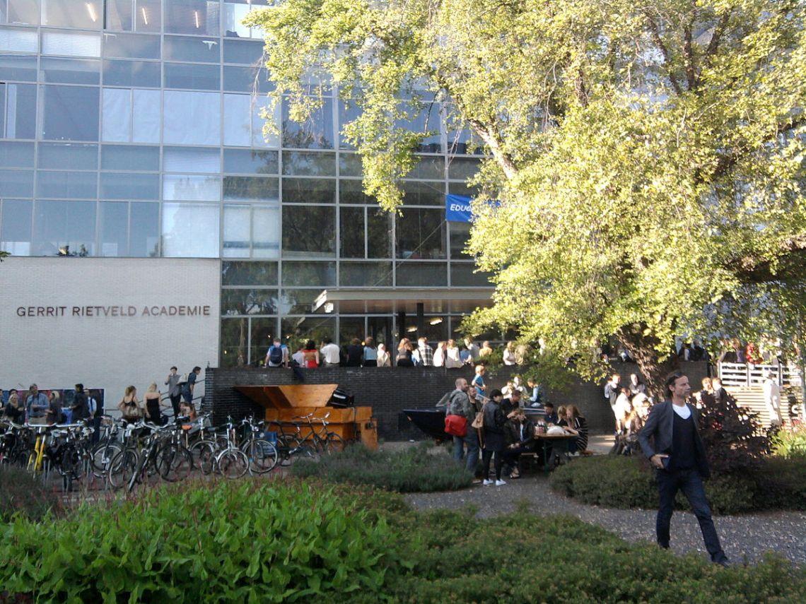 Gerrit Rietveld Academie Amsterdam. Foto Paul Berendsen.