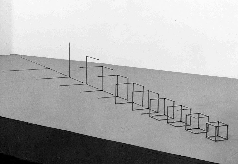 Ruudt Peters, Of meters cube, 1979. Foto met dank aan Ruudt Peters©