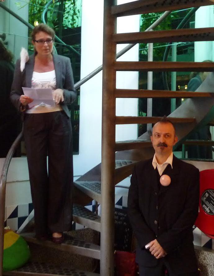 Liesbeth den Besten heropent Galerie Ra. Foto met dank aan Liesbeth den Besten©