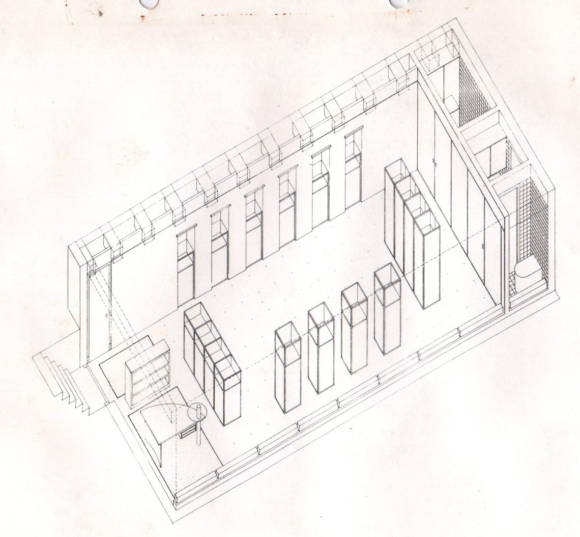 Galerie Louise Smit, ontwerp door Postma en Dieperink. Foto met dank aan Louise Smit©