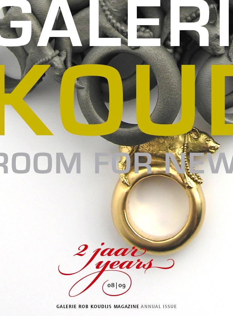 Cover Magazine Galerie Rob Koudijs 2 jaar. Foto met dank aan Galerie Rob Koudijs©