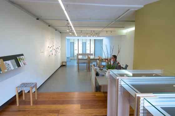 Galerie Rob Koudijs, interieur, 2014. Foto met dank aan Galerie Rob Koudijs©