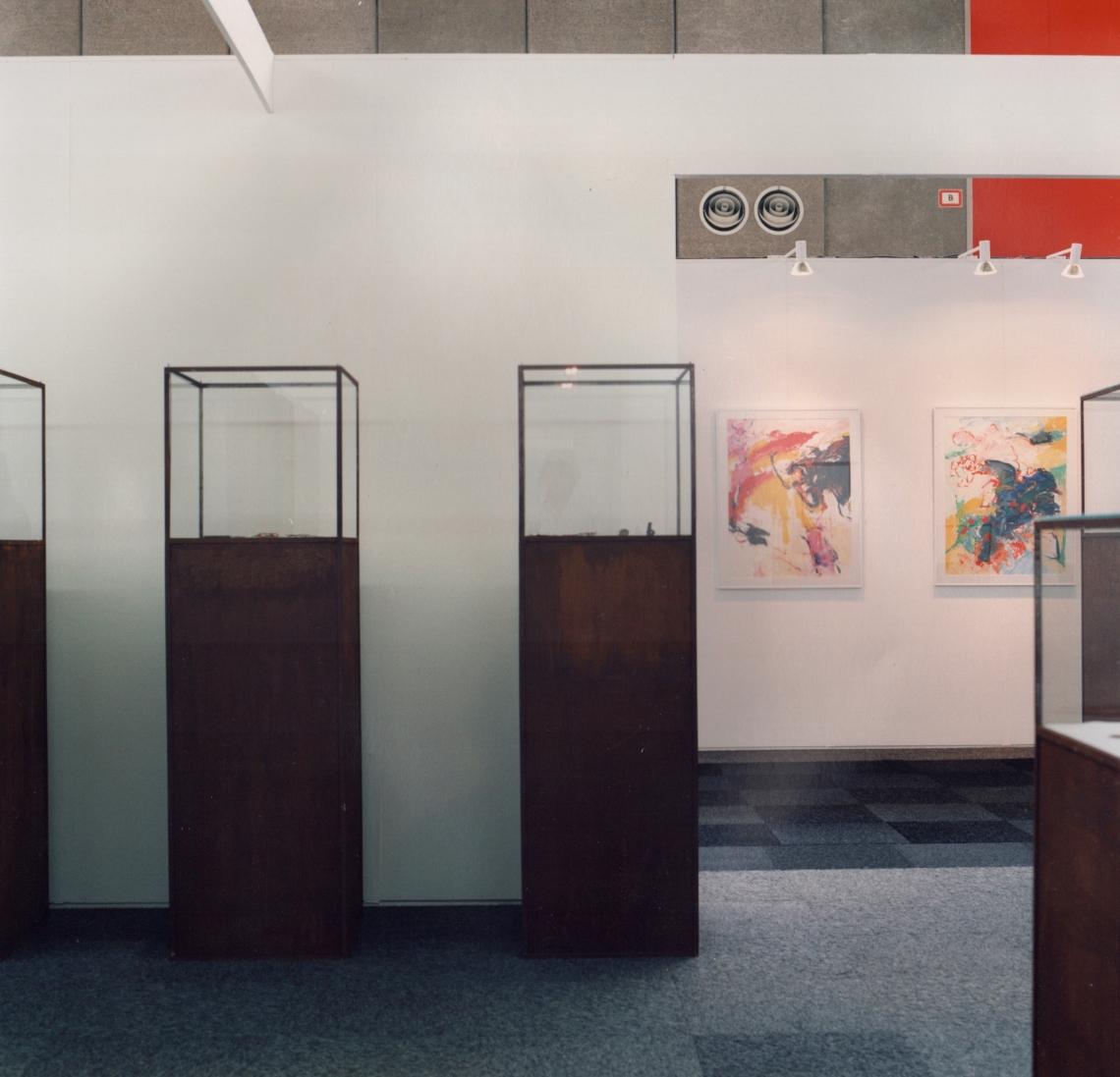 Galerie Louise Smit op KunstRAI 1989. Foto met dank aan Louise Smit©