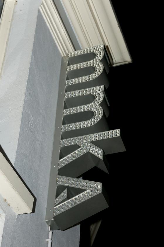 Liesbet Bussche, Bling bling logo, 2011. Museum voor Moderne Kunst Arnhem. Foto met dank aan Liesbeth den Besten©