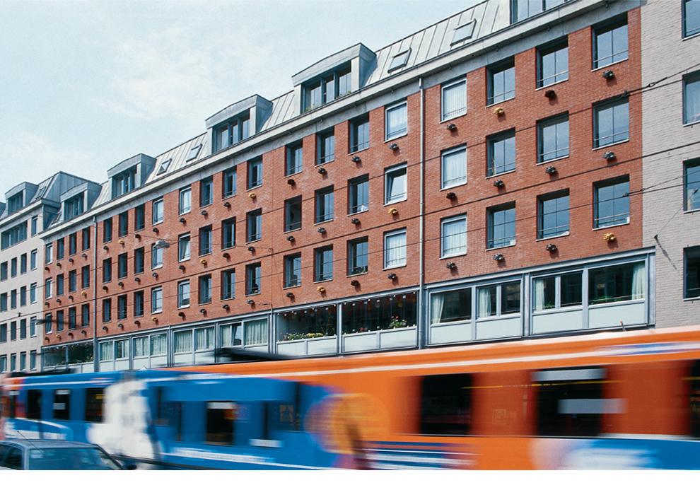 Ruudt Peters, Philosophical Water, Vinkhoek, Kinkerstraat, Amsterdam, 1997. Foto met dank aan Ruudt Peters©