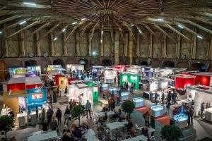 Sieraad Art Fair tijdens de opening op 10 november 2016. Foto met dank aan Sieraad Art Fair, Arjen Veldt©