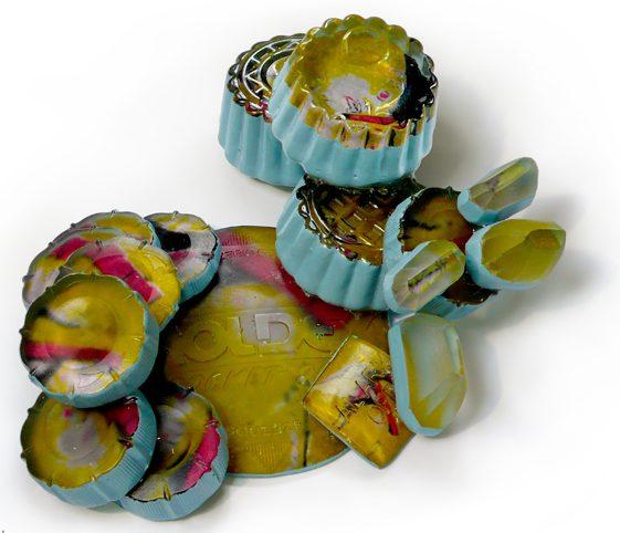 Andrea Wagner, Blue Cupcake Lab, broche. Foto met dank aan Andrea Wagner©
