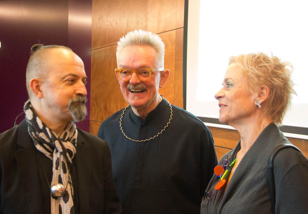 Paul Derrez, Willem Hoogstede en Carin Reinders. Foto met dank aan M.O.©