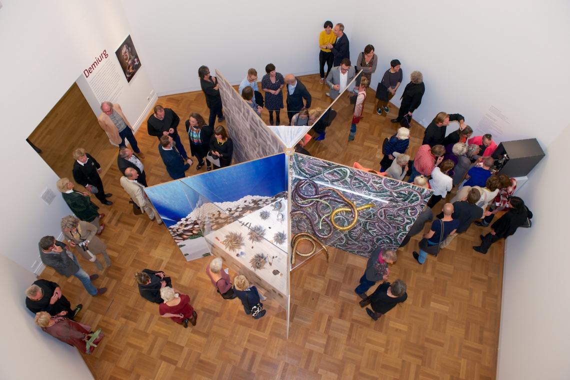 Demiurg, Museum voor Moderne Kunst Arnhem. Foto (met dank aan) Liesbeth den Besten.©
