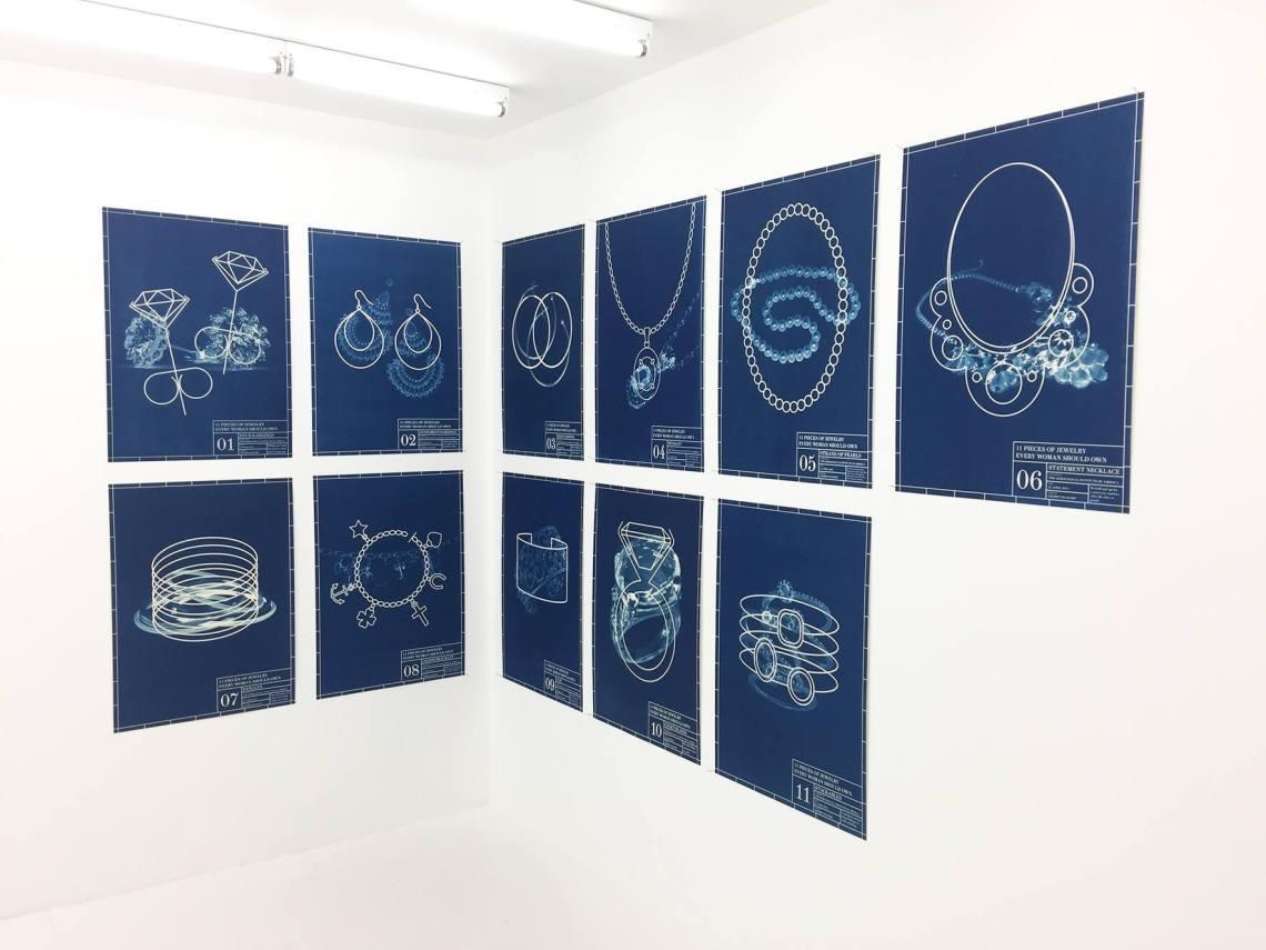Liesbet Bussche, Galerie Beyond, 2016. Foto met dank aan Liesbet Bussche©