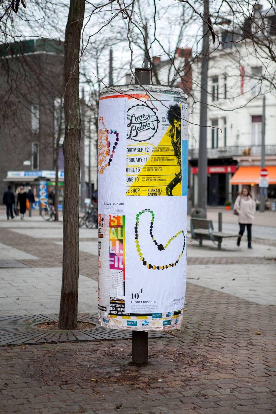 Liesbet Bussche, 2016. Foto met dank aan Liesbet Bussche©