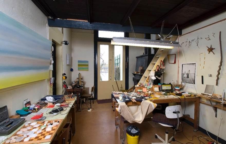Kesslers atelier voor sieraden. Foto met dank aan Beppe Kessler©