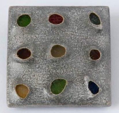 Beppe Kessler, Glass brooch, 1996. Foto met dank aan Beppe Kessler©
