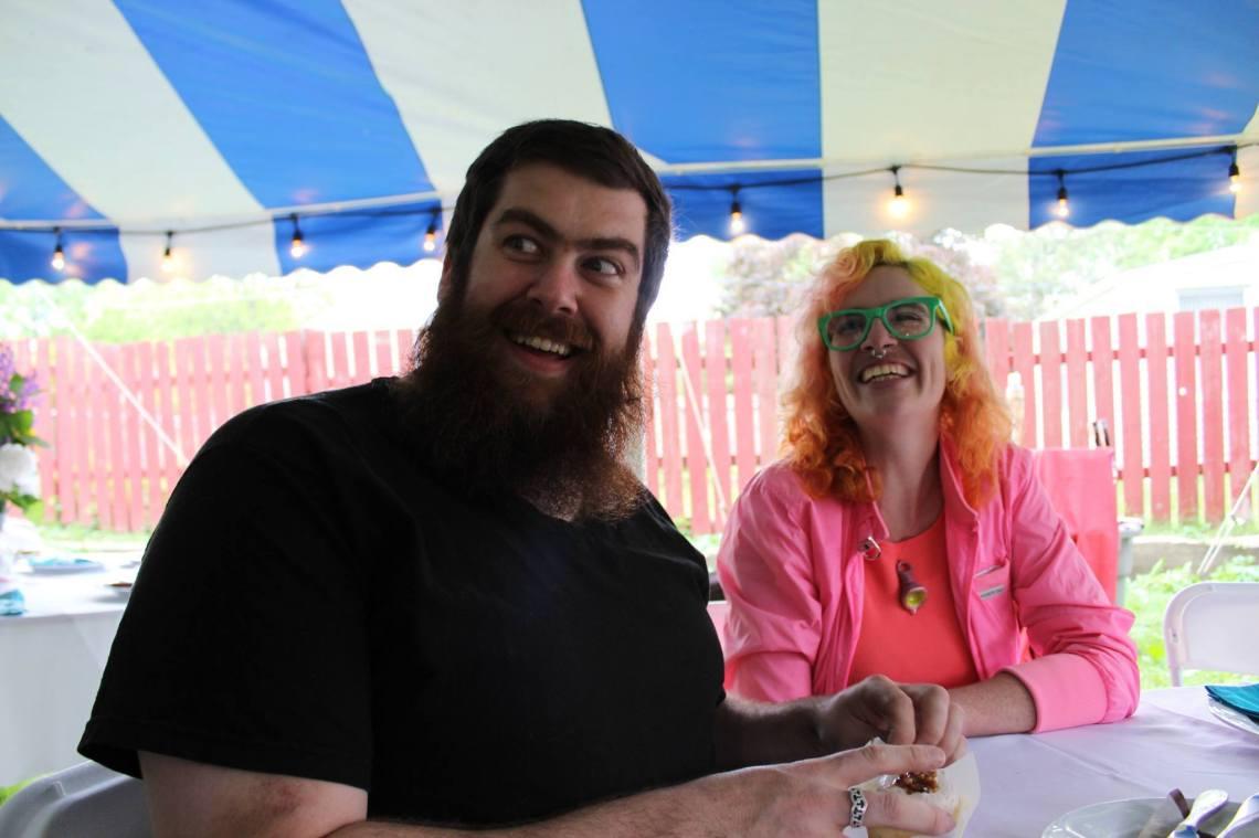 Ben Smasher en Jillian Moore. Foto met dank aan Jillian Moore©