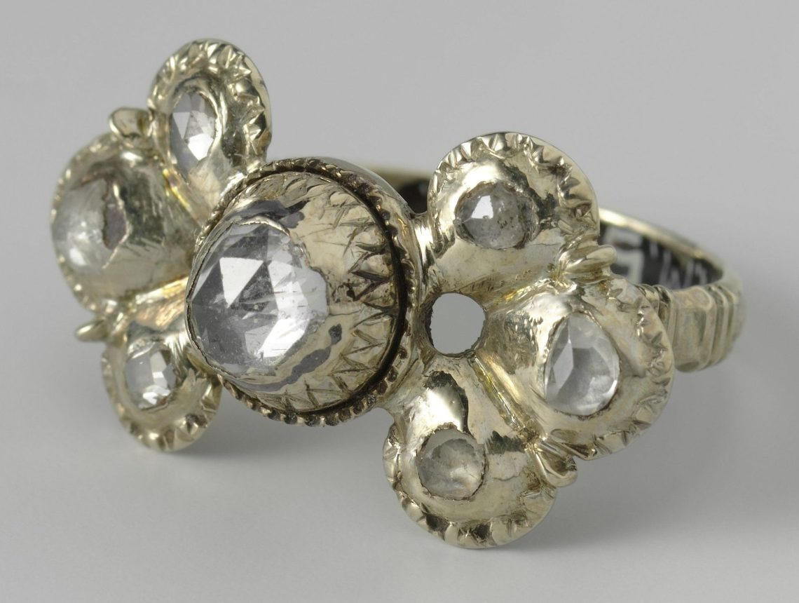 Anoniem, ring, 17de eeuw. Collectie Rijksmuseum, BK-NM-5752, publiek domein