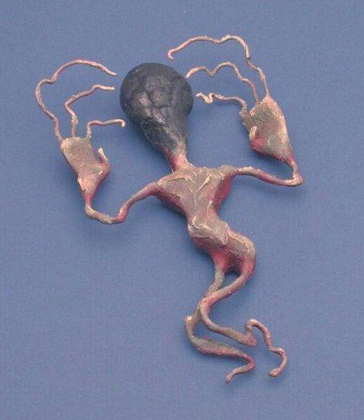Bruce Metcalf, Figure pin # 153, broche, 1997. Foto met dank aan SMS©