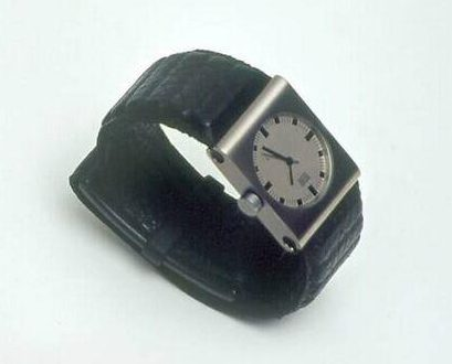 Bruno Ninaber van Eyben, horloge, 1984. Foto met dank aan SMS©
