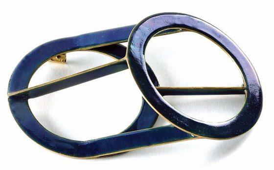 Francesco Pavan, broche, 2003. Foto met dank aan Galerie Marzee©