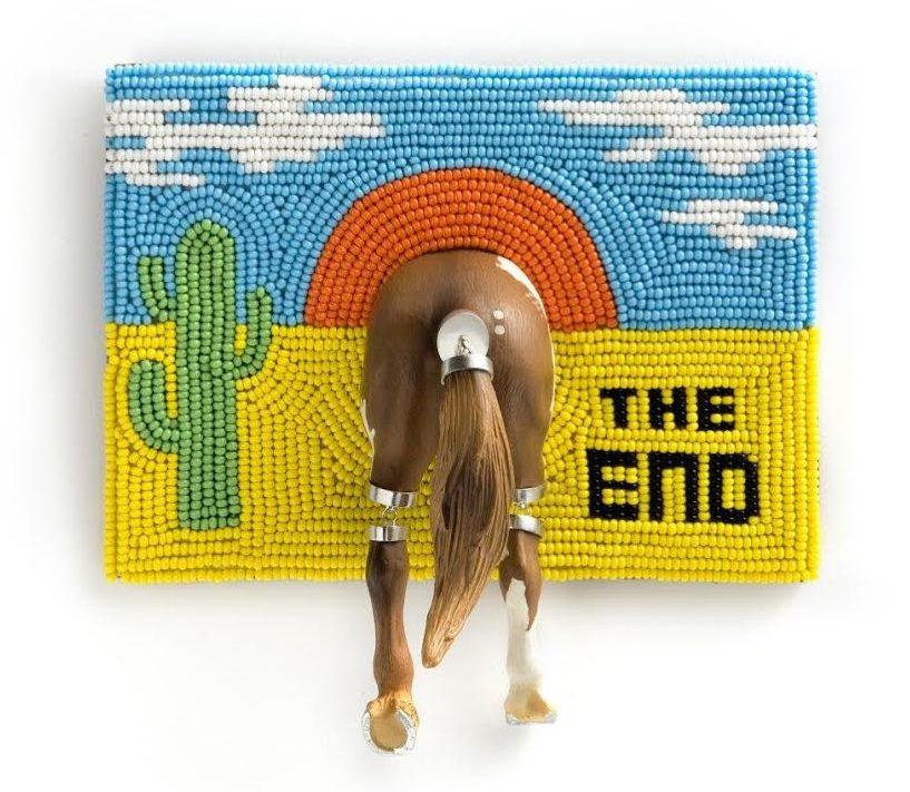 Felieke van der Leest, The End I, broche, 2011. Fotografie Eddo Hartmann©