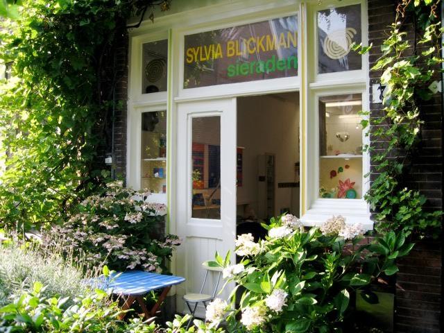Atelier van Sylvia Blickman, Haarlem. Foto met dank aan Sylvia Blickman©