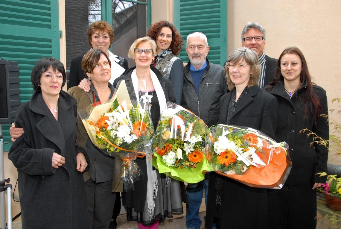 Medewerkers Allures et Parures, Espace Solidor, 2009. Foto met dank aan Birgit Laken©
