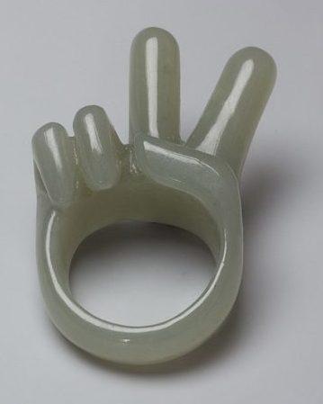 Gijs Bakker, Peace Ring. Foto met dank aan Gijs Bakker©
