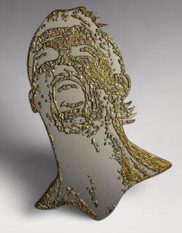 Gijs Bakker, Ronaldo, Go for Gold, broche, 2013. Studio Coral©