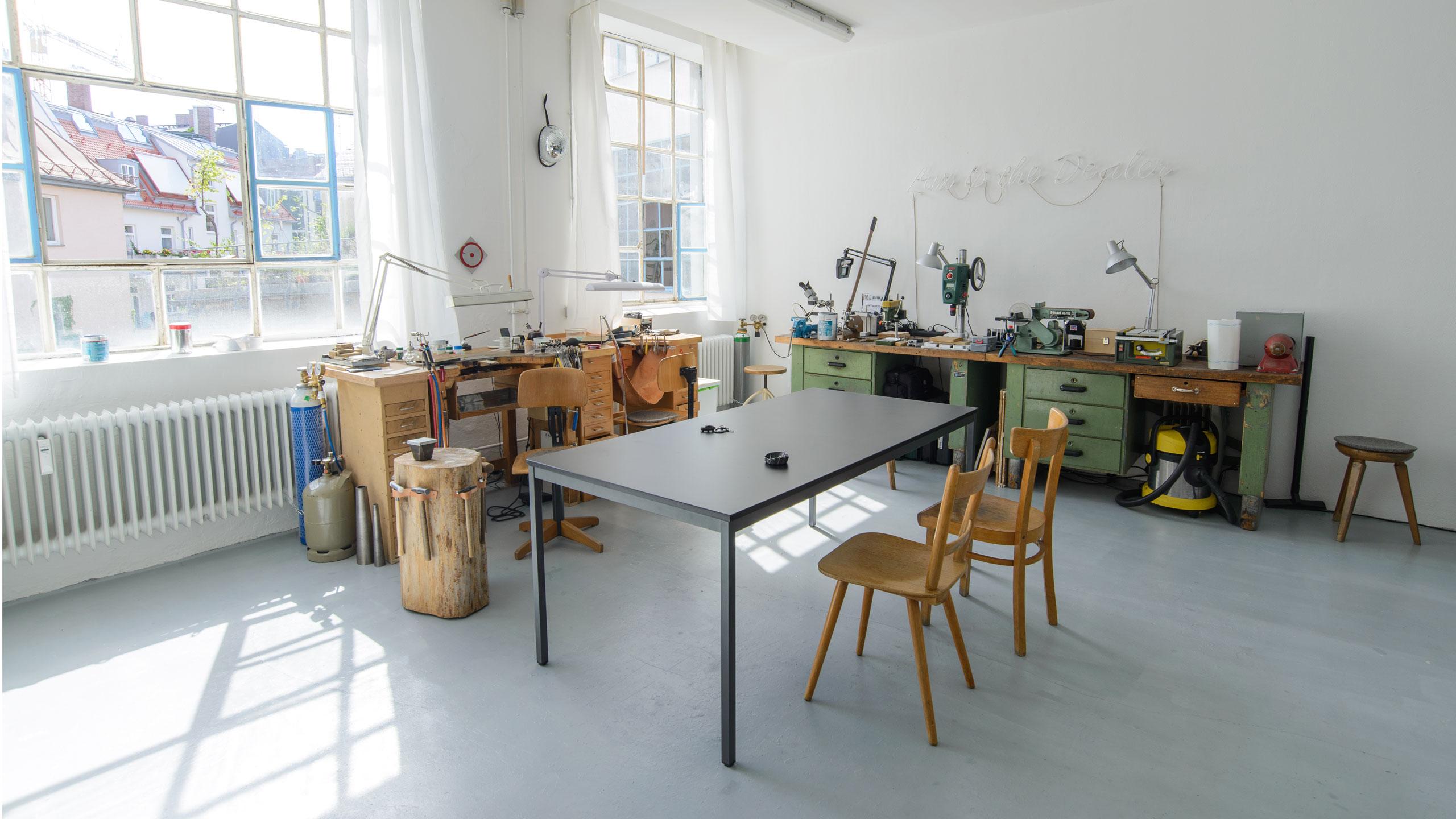 Jiro Kamata, atelier. Foto met dank aan Jiro Kamata©
