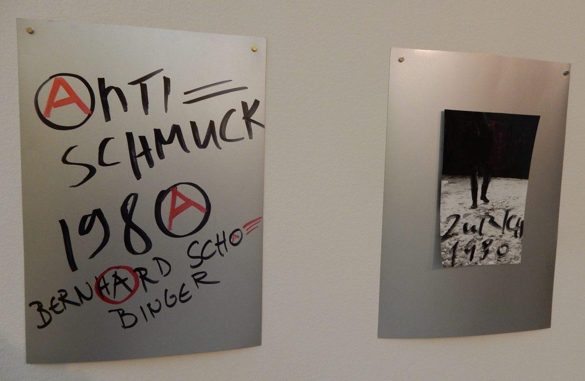 Bernhard Schobinger, tekeningen, 1980-1990, Private Confessions, CODA, 2016. Foto Esther Doornbusch©