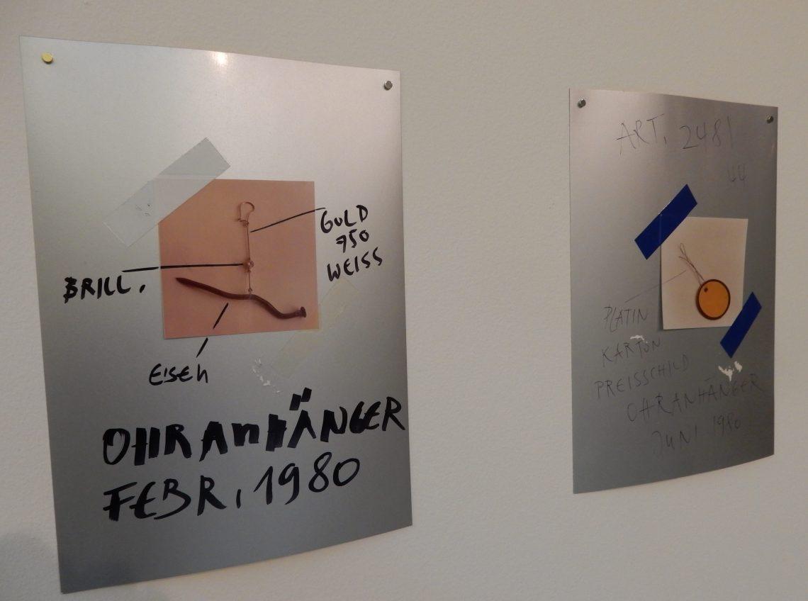 Bernhard Schobinger, tekeningen, 1980-1990, Private Confessions, CODA, 2016. Foto Esther Doornbusch, CC BY 4.0