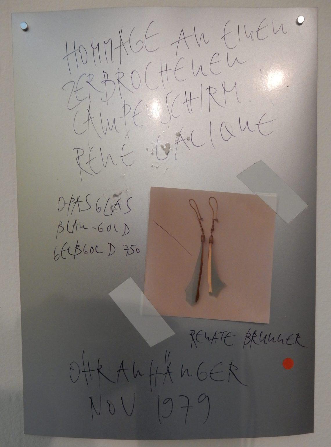 Bernhard Schobinger, tekening, 1980-1990, Private Confessions, CODA, 2016. Foto Esther Doornbusch©