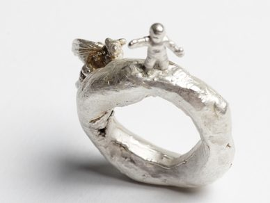 Jade Drakes, ring. Foto met dank aan Jade Drakes©