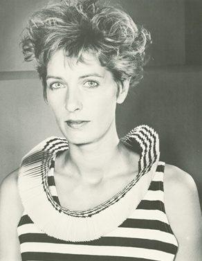 Mecky van den Brink, Halswaaier, 1986, halssieraad. Foto met dank aan Mecky van den Brink, Anna Beeke©
