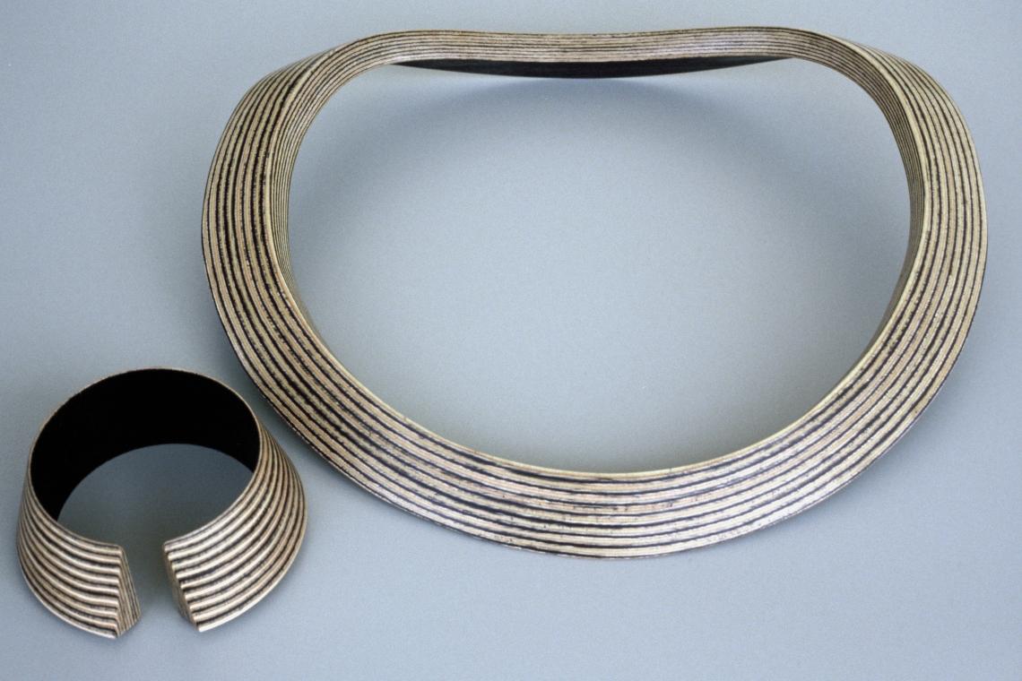 Maria Hees, Padova, armband en halssieraad, 1985. Foto met dank aan Maria Hees©