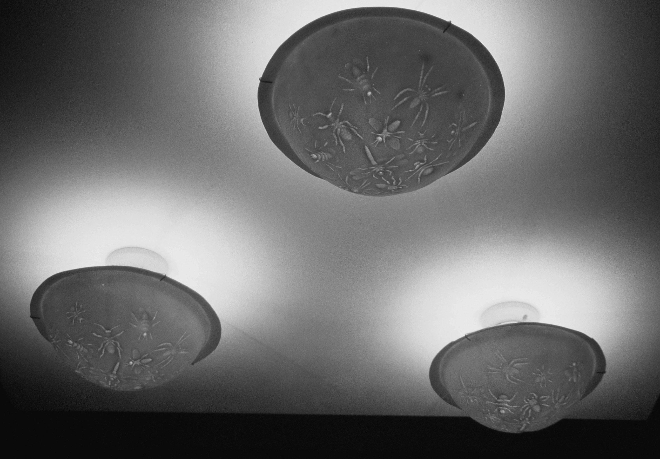 Maria Hees, Insektenlampen, porselein, 2003. Foto met dank aan Maria Hees©