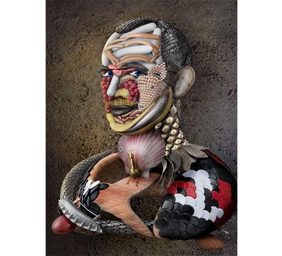 David Bielander, Demiurge, zelfportret, 2013. Foto met dank aan Gallery Funaki©