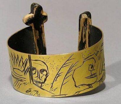 Manfred Bischoff, armband, 1989. Foto met dank aan SMS©