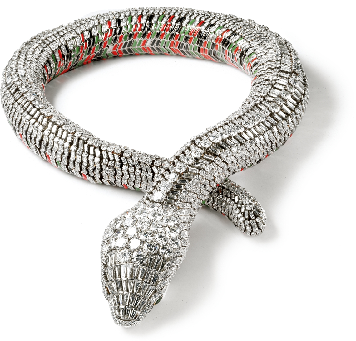 Cartier, Collier Serpent, 1968. Collectie Cartier. Foto met dank aan ADAGP, Nick Welsh©