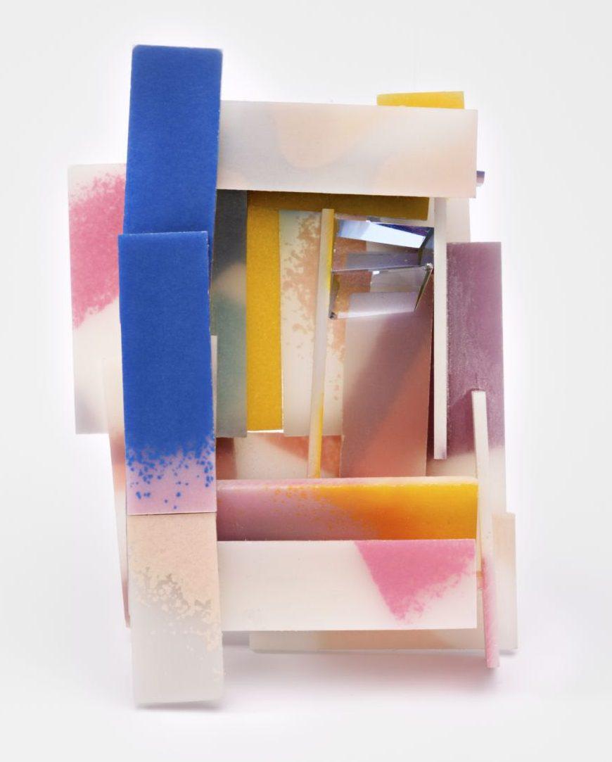 Annamaria Zanella, Pink Doors, broche. Foto met dank aan Galerie Slavik©