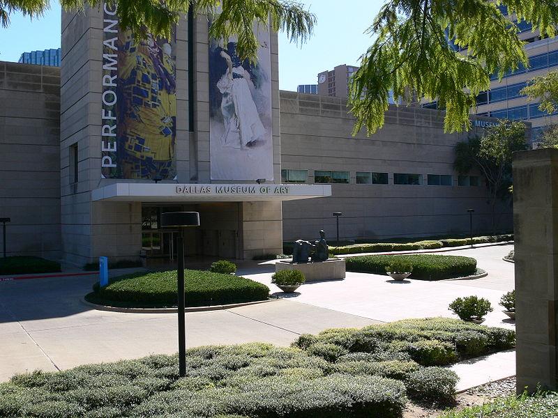 Dallas Museum of Art. Foto met dank aan Andreas Praefcke, publiek domein.